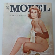 Libros de segunda mano: THE MODEL, FRITZ WILLIS, PINTURA / PAINTING, WALTER T. FOSTER, 1965. Lote 237894205