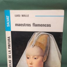 Libros de segunda mano: GRAN ATLAS DE LA PINTURA SALVAT MAESTROS FLAMENCOS DE LUIGI MALLE. Lote 239659635