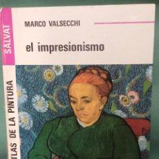 Libros de segunda mano: GRAN ATLAS DE LA PINTURA SALVAT EL IMPRESIONISMO DE MARCO VALSECCHI. Lote 239661165