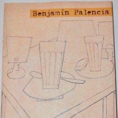 Libros de segunda mano: CATÁLOGO. BENJAMÍN PALENCIA. OBRA SOCIAL CAJA MADRID, 2000-2001. TAPA BLANDA. EN MUY BUEN ESTADO. Lote 240334160
