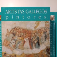 Libros de segunda mano: HASTA EL ROMANTICISMO. NOVA GALICIA. PINTORES ARTISTAS GALLEGOS. CASTELLANO. Lote 240561340
