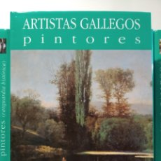 Libros de segunda mano: NOVECIENTOS. NOVA GALICIA. PINTORES ARTISTAS GALLEGOS. CASTELLANO. Lote 240561355