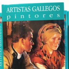 Libros de segunda mano: REGIONALISMO I. NOVA GALICIA. PINTORES ARTISTAS GALLEGOS. CASTELLANO. Lote 240561370