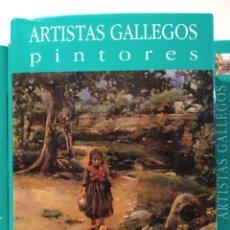 Libros de segunda mano: REGIONALISMO I I. NOVA GALICIA. PINTORES ARTISTAS GALLEGOS. CASTELLANO. Lote 240561390