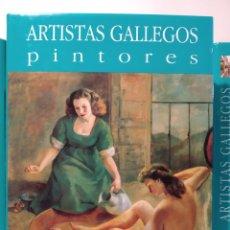 Libros de segunda mano: REGIONALISMO III. NOVA GALICIA. PINTORES ARTISTAS GALLEGOS. CASTELLANO. Lote 240561410