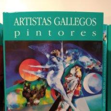 Libros de segunda mano: POSTGUERRA II: ABSTRACCIONES - FIGURACIONES. PINTORES ARTISTAS GALLEGOS. CASTELLANO. Lote 240561455