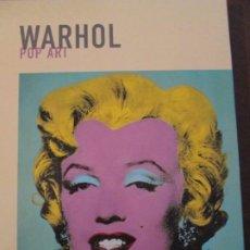 Libros de segunda mano: ANDY WARHOL--POP ART-POLIGRAFA 2006. Lote 240934715