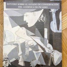 Libros de segunda mano: ESTUDIO SOBRE EL ESTADO DE CONSERVACIÓN DEL GUERNICA. Lote 241375000