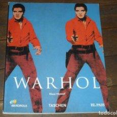 Libros de segunda mano: ANDY WARHOL. KLAUS HONNEF. EL ARTE COMO NEGOCIO. TASCHEN 2007. DIARIO EL PAIS.. Lote 242106325