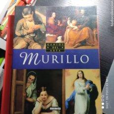 Libros de segunda mano: MURILLO. GENIOS DEL ARTE. Lote 242381105