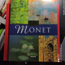 Libros de segunda mano: MONET. GENIOS DEL ARTE. Lote 242381720