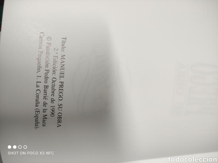 Libros de segunda mano: Manuel Prego y su obra. José Manuel García Iglesias - Foto 2 - 243050385