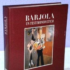 Libros de segunda mano: BARJOLA, UN TESTIMONIO ÉTICO POR MIGUEL LOGROÑO DE CAJASTUR / PRINCIPADO ASTURIAS EN OVIEDO 1988. Lote 243073150
