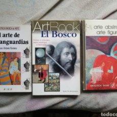 Libros de segunda mano: LIBROS ARTE VANGUARDIAS, ABSTRACTO Y FIGURATIVO Y EL BOSCO. Lote 243166640