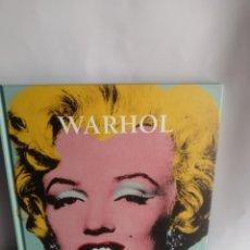 Libros de segunda mano: ANDY WARHOL, EDICIÓN AGUAZUL. Lote 243279320