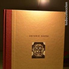 Libros de segunda mano: ANTONIO SAURA- CAJA DUERO, 2002 CATÁLOGO DE EXPOSICIÓN. Lote 243423000