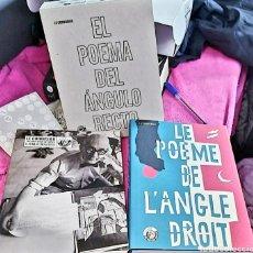 Libros de segunda mano: LE CORBUSIER Y LA SINTESIS DE LAS ARTES:EL POEMA DEL ANGULO RECTO. 2 VOL. Lote 243928730
