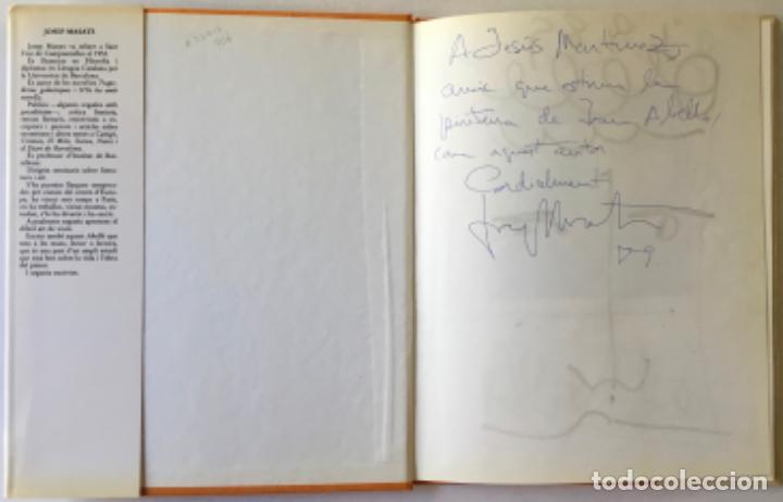 Libros de segunda mano: JOAN ABELLÓ. - MASATS, Josep; y IRIARTE, Joan. DEDICADO. - Foto 2 - 243984655