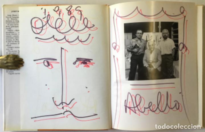 Libros de segunda mano: JOAN ABELLÓ. - MASATS, Josep; y IRIARTE, Joan. DEDICADO. - Foto 3 - 243984655