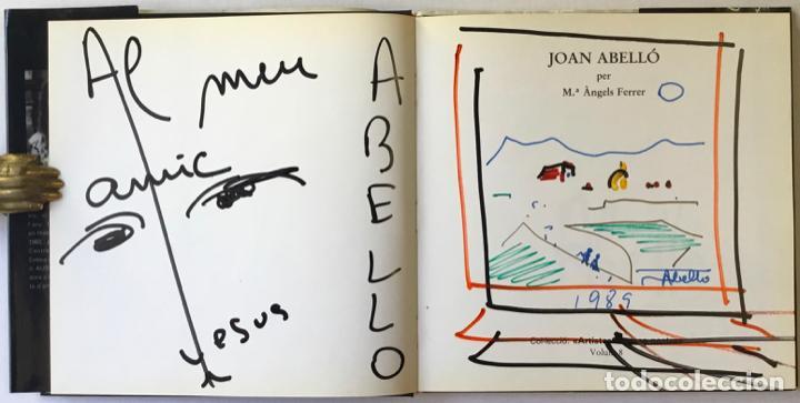 Libros de segunda mano: JOAN ABELLÓ. - FERRER, Mª Àngels. DEDICAT. - Foto 2 - 243985460