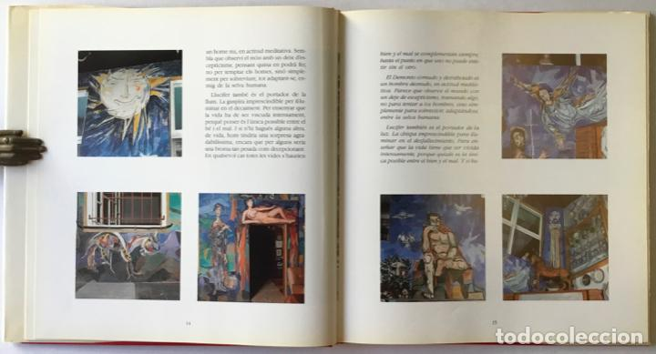 Libros de segunda mano: ABELLÓ. ELS MURALS DE LA CASA-MUSEU. LOS MURALES DE LA CASA-MUSEO. - MASATS, Josep. DEDICAT. - Foto 4 - 243987855