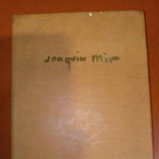 Libros de segunda mano: AGENDA JOAQUÍN MIR 1991. Lote 244423865