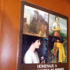 Libros de segunda mano: HOMENAJE A JULIO ROMERO DE TORRES. Lote 244427715