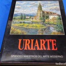 Libros de segunda mano: BONIFACIO CARLOS DE URIARTE. GRANDES MAESTROS DE ARTE MODERNO. 1992. 210 PG.. Lote 244847185