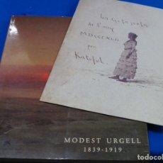 Libros de segunda mano: MODEST URGELL 1839-1919. CON FACSIMIL DE LA GITANETA. 149 PAG.. Lote 244848575