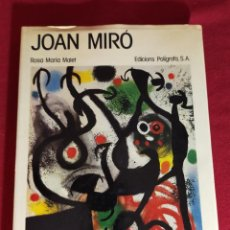 Libros de segunda mano: JOAN MIRÓ - ROSA MARIA MALET. Lote 245133020