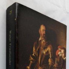 Libros de segunda mano: ESTUDIOS SOBRE CARAVAGGIO - WALTER FRIEDLAENDER - ALIANZA FORMA. Lote 245266560