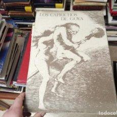 Libros de segunda mano: LOS CAPRICHOS DE GOYA . FACSÍMIL QUE CONTIENE 80 ESTAMPAS DE LA 1ª EDICIÓN . GUSTAVO GILI. 1977. Lote 246020185