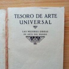 Libros de segunda mano: TESORO DE ARTE UNIVERSAL LAS MEJORES OBRAS DE ARTE DEL MUNDO - ALGO BARCELONA. Lote 246121560
