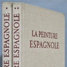 Libros de segunda mano: LA PEINTURE ESPAGNOLE. LASSAIGNE. 2 TOMOS. Lote 246174685