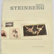 Livros em segunda mão: MONOGRAFÍA. SAUL STEINBERG. ARTISTA, ILUSTRADOR. IVAM, 2002. DORE ASHTON, COMISARIA. THE NEW YORKER. Lote 246706975