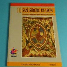 Livros em segunda mão: SAN ISIDORO DE LEÓN. PINTURA ROMÁNTICA DEL PANTEÓN DE REYES . ANTONIO VIÑAYO GOZÁLEZ. 1993. Lote 248668745