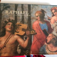 Libros de segunda mano: RAPHAEL, THE STANZA DELLA SEGNATURA, ROME. Lote 249265555