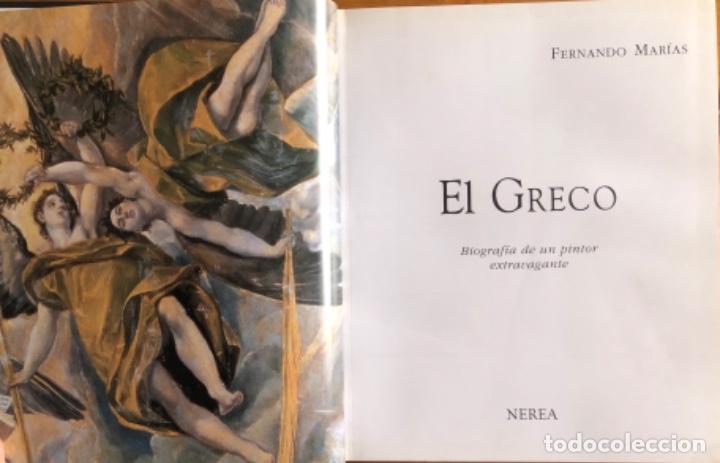 Libros de segunda mano: EL GRECO- FERNANDO MARIAS- NEREA 1997 - Foto 2 - 252816650