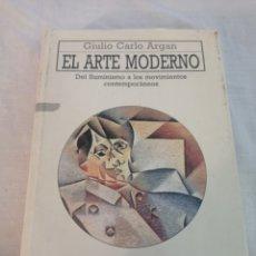 Livros em segunda mão: LIBRO EL ARTE MODERNO. Lote 253339645