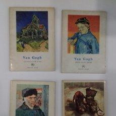 Libros de segunda mano: LOTE 4 MINI LIBROS VAN GOGH. FERNAND HAZAN. PARIS. ( 1956-56-63-67 ). TEXTO EN FRANCÉS.. Lote 253482570