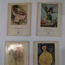 Libros de segunda mano: LOTE PETITE ENC. DE L' ART 4 LIBROS. GAUGUIN, CEZANNE, PICASSO (FERNAND HAZAN) Y MODIGLIANI (G.G). Lote 253537285