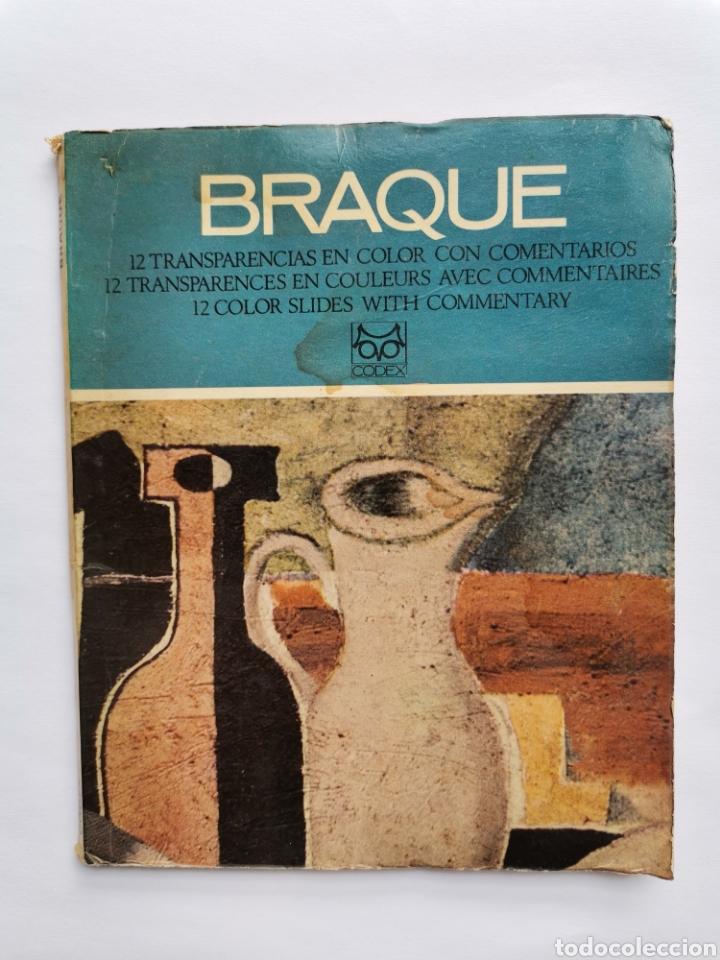 BRAQUE 11 TRANSPARENCIAS EN COLOR SLIDES TRANSPARENCES (Libros de Segunda Mano - Bellas artes, ocio y coleccionismo - Pintura)