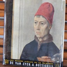 Libros de segunda mano: LES GRANDS SIÈCLES DE LA PEINTURE DE VAN EYCK A BOTTICELLI XV SIÈCLE. Lote 255489365