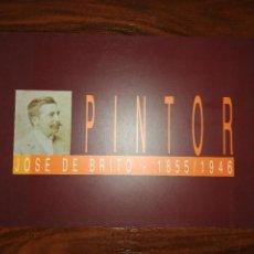Libros de segunda mano: PINTOR JOSÉ DE BRITO 1855/1946. LEONOR POUSADA E EDUARDO POUSADA. 1996 (PORTUGUÉS). Lote 257305745