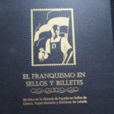 Libros de segunda mano: EL FRANQUISMO EN SELLOS Y BILLETES. Lote 257635985