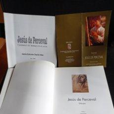 Libros de segunda mano: LIBRO JESÚS DE PERCEVAL+CUADERNO+FOLLETO. Lote 260635695