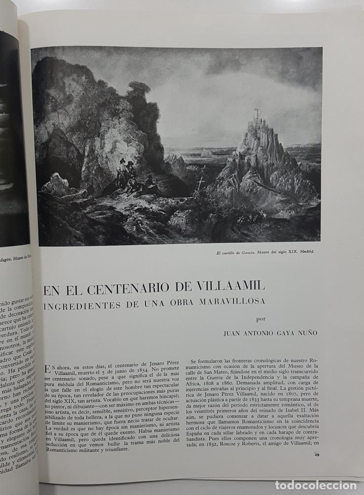 Libros de segunda mano: GOYA REVISTA DE ARTE 1954 N 1. DIBUJOS GOYA. GAYA NUÑO,PEREZ VILLAMIL. BERNARD BUFFET. ORTEGA MUÑOZ - Foto 7 - 261127360