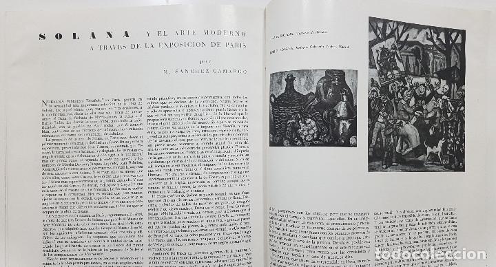 Libros de segunda mano: GOYA REVISTA DE ARTE 1954 N 1. DIBUJOS GOYA. GAYA NUÑO,PEREZ VILLAMIL. BERNARD BUFFET. ORTEGA MUÑOZ - Foto 14 - 261127360