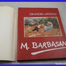 Libros de segunda mano: LIBRO DE MARIANO BARBASAN CON NUMEROSAS FOTOS DE CUADROS. Lote 261895675
