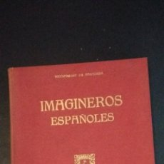 Libros de segunda mano: IMAGINEROS ESPAÑOLES BERNARDINO PANTORBA. Lote 262381235